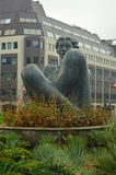 Floozie in the Jacuzzi Statue Birmingham England. The River, locally known as the Floozie in the Jacuzzi, is an artwork in Victoria Square, Birmingham, west Royalty Free Stock Images