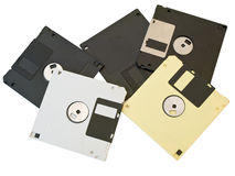 Floppies discs Stock Photos