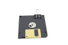 Floppy disc for computer Royalty Free Stock Images