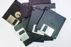 Floppy disc for computer data. Storage Stock Image