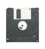 Floppy disc isolation. Floppy disc on white background Stock Images
