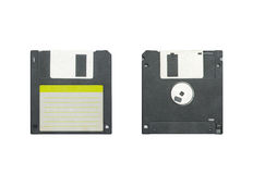 Floppy disc isolation. Floppy disc in white background Stock Image