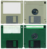 Floppy discs stock image