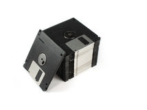 Floppy discs Stock Photo