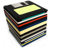 Floppy discs Royalty Free Stock Image