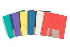 Floppy discs royalty free stock images