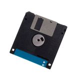 Floppy disk. Isolated on the white background Royalty Free Stock Images