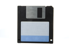 Floppy disk. Over white background royalty free stock images