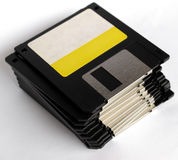 Floppy disk. Magnetic floppy disk for computer data storage stock photography