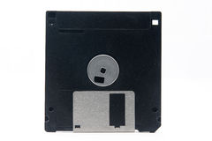 Floppy disk. One floppy disk isolated on white background stock image