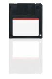 Floppy disk. Blank floppy disk on white background royalty free stock photography