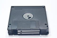 Floppy disk in bianco Immagine Stock Libera da Diritti