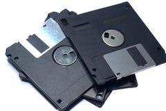 Floppy disk in bianco Fotografie Stock