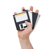 Floppy disk, data storage support Royalty Free Stock Image