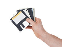 Floppy disk, data storage support Royalty Free Stock Photography