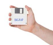 Floppy disk, data storage support Stock Photo