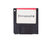 Floppy disk, data storage support Stock Photography