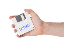 Floppy disk, data storage support Royalty Free Stock Photos