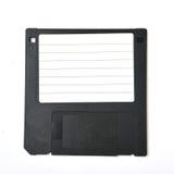 Floppy disk, Diskette. 3.5-inch Floppy disk, Diskette, old data storage Stock Image