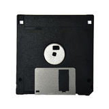Floppy disk, Diskette. 3.5-inch Floppy disk, Diskette, old data storage Royalty Free Stock Photo