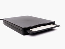 Floppy disk drive Royalty Free Stock Photo