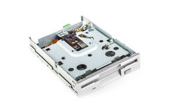 Floppy disk drive disassembled 01 Royalty Free Stock Photos