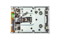 Floppy disk drive disassembled 02 Stock Photography