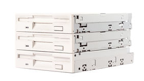 Floppy disk drives Stock Photography