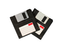 Floppy Disk. It is equipped with a floppy old manna decades. Since before the start of the 8-inch PC into a 5.25-inch, and finally came to rest on the 3.5-inch Royalty Free Stock Image