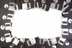 Floppy disk framework Royalty Free Stock Image