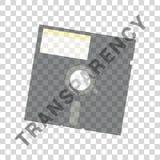 Floppy disk icon art illustration Royalty Free Stock Photos