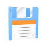 Floppy disk icon. Royalty Free Stock Photos