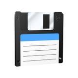 Floppy disk icon. Realistic diskette icon. Vector illustration Stock Photo