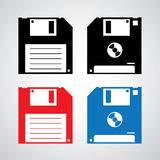 Floppy disk icon Stock Image