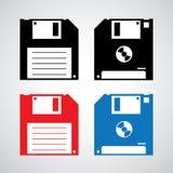 Floppy disk icon Stock Image