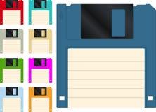 Floppy disk icon. Floppy disk vector icon set Stock Photography