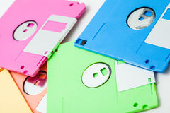 Floppy disk. The isolate colorful floppy disks Stock Image