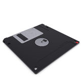 Floppy disk. Isolated render on a white background Royalty Free Stock Image