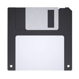 Floppy disk. Isolated render on a white background Stock Photography