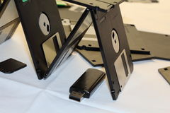 Floppy disk magnetic Stock Photo