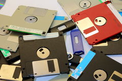 Floppy disk magnetic Stock Photos