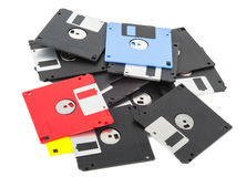 Floppy disk magnetic computer Stock Photos
