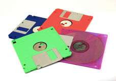 Floppy Disk magnetic isolated Royalty Free Stock Photo