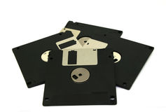 Floppy Disk magnetic isolated Royalty Free Stock Image