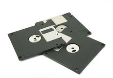 Floppy Disk magnetic isolated Royalty Free Stock Photography