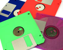 Floppy Disk magnetic isolated Stock Images