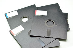 Floppy Disk. An obsolete 5.25 inch floppy disk stock photography
