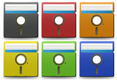 Floppy disk Stock Images