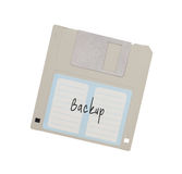 Floppy Disk - Tachnology from the past, isolated on white Stock Photography