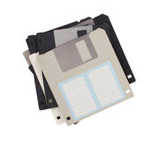 Floppy Disk - Tachnology from the past, isolated on white Stock Photo